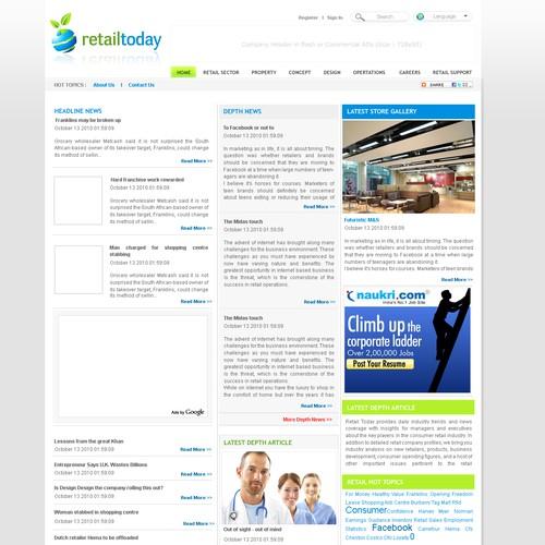 Ontwerp van finalist Ravisha