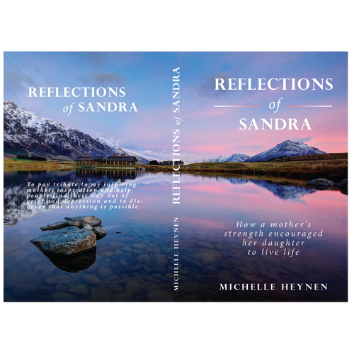Book Cover For Quot Reflections Of Sandra Quot Author Michelle