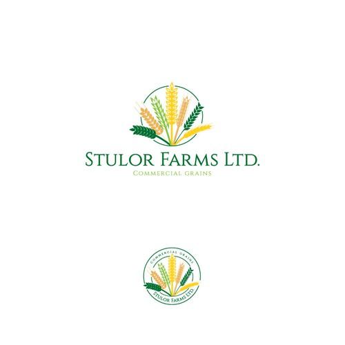 stulor farms a farming family tradition logo