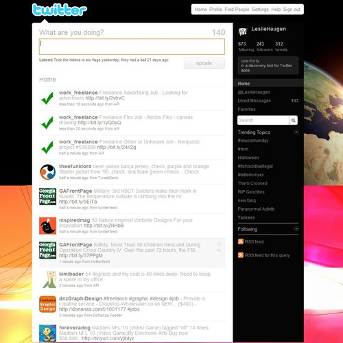 Adaps Twitter Page Twitter Background Design Contest - Game designer jobs uk
