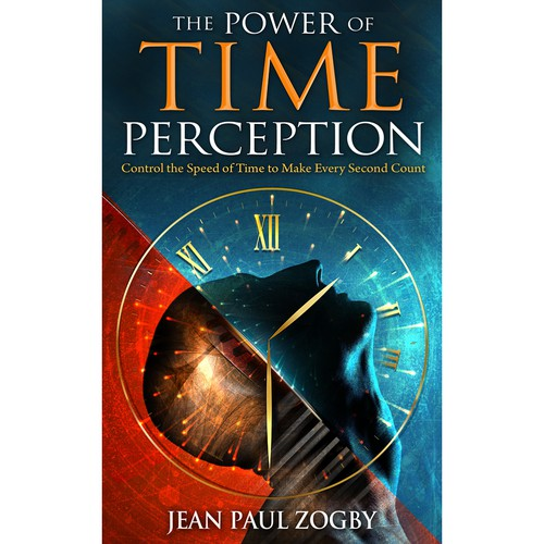 Book Cover Design Nonfiction : Cover design for non fiction book the power of time