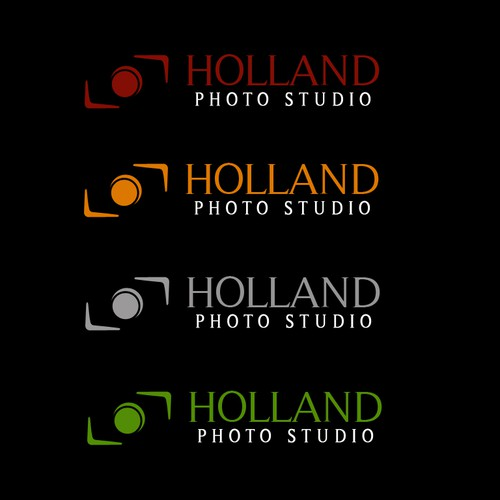 Wedding Photography Studio Logo: Holland Photo Studio Wedding Photographer Logo