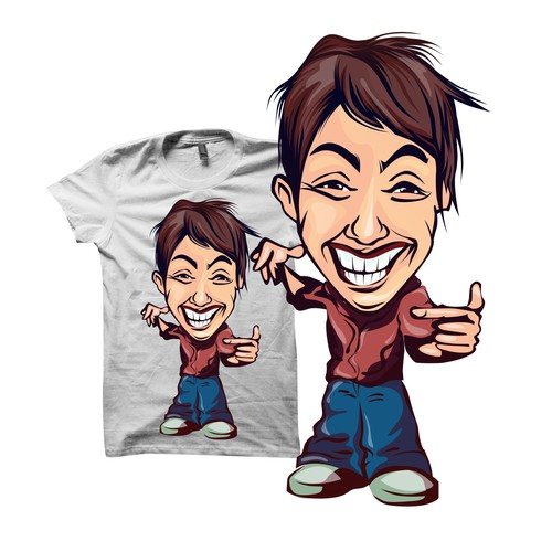 Create character for indie tshirt startup Design by Rats__