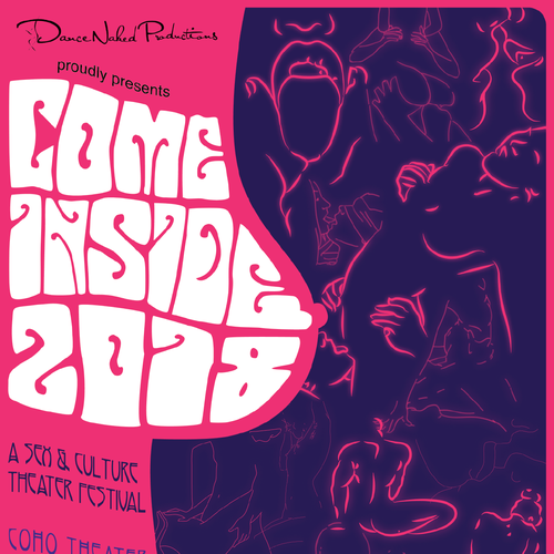 Come Inside: A Sex & Culture Theater Festival Poster Design Design by M.lee24