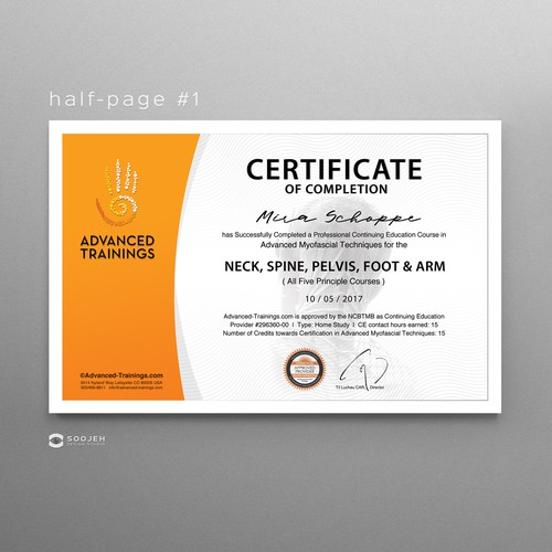 e430d26596 Design background graphic for Certificate-of-Completion templates ...