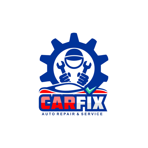Auto Repair Shop Looking For Eye Catching Logo To Stand Out From The