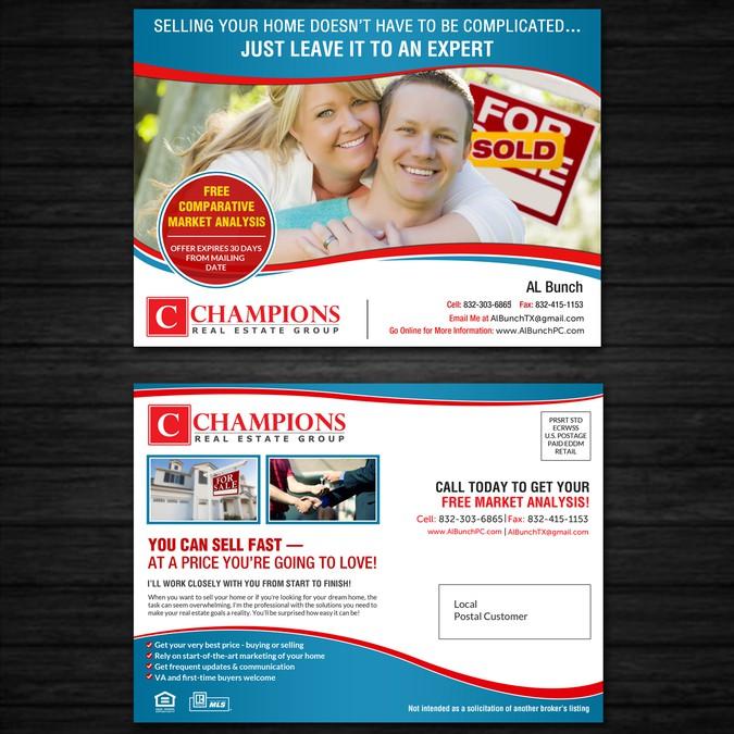 Realtor Postcard (EDDM) | Postcard, flyer or print contest