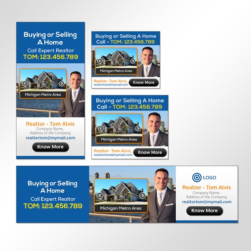 Banner Ad for Real Estate - Guaranteed Design by Indran