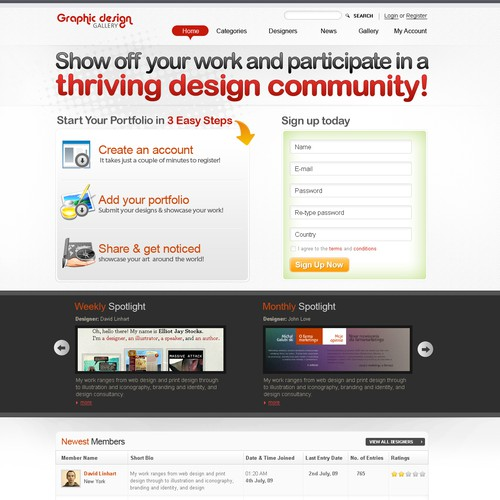 Runner-up design by Netbluez