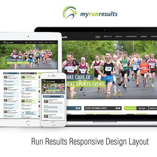 Runner-up design by WebGuru™