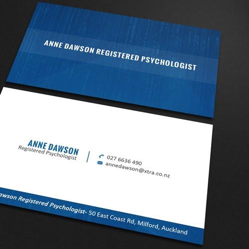 Psychologist business card design concurso carto de visita design finalista por mahmudul44 reheart Image collections