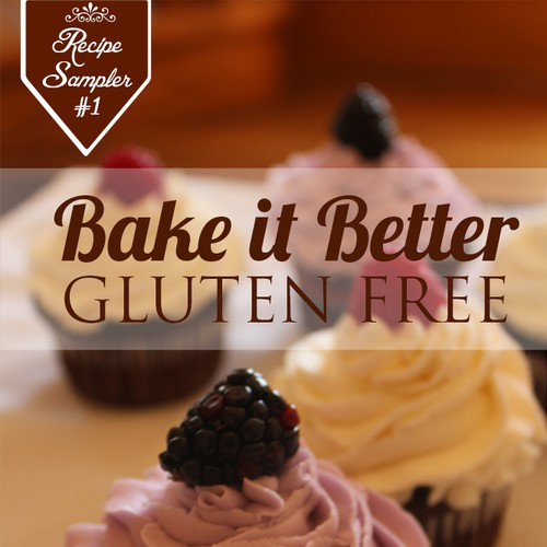 Create a Cover for our Gluten-Free Comfort Food Cookbook Design by PRINCY103