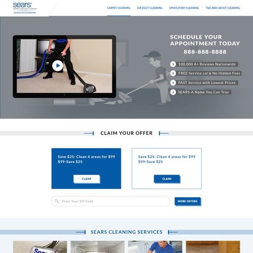 Diseño finalista de Web Innovation