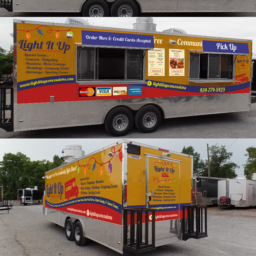 Create exterior design of new food truck auto lkw oder for Food truck design software