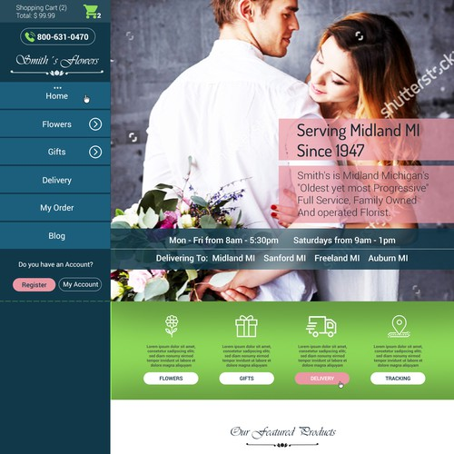 Runner-up design by PineappleWebdesign
