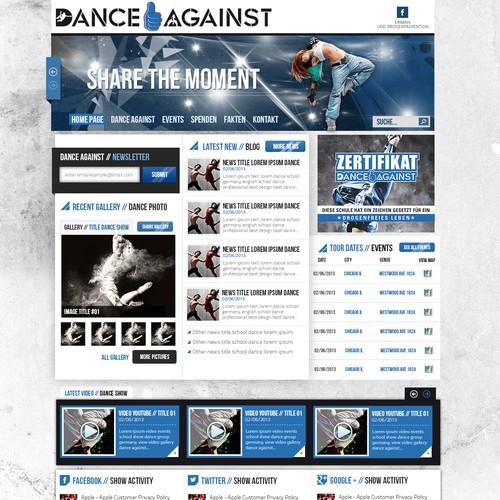 Diseño finalista de eskimoweb