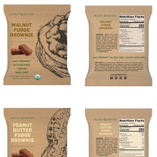 Nationwide food company needs a new package design Design by AvaRosa