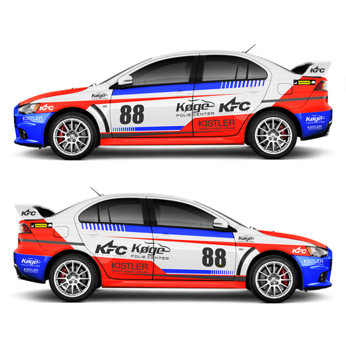 Entry #9 by RaihanMuhammad for Design Rally car graphics ... |Rally Cars Design