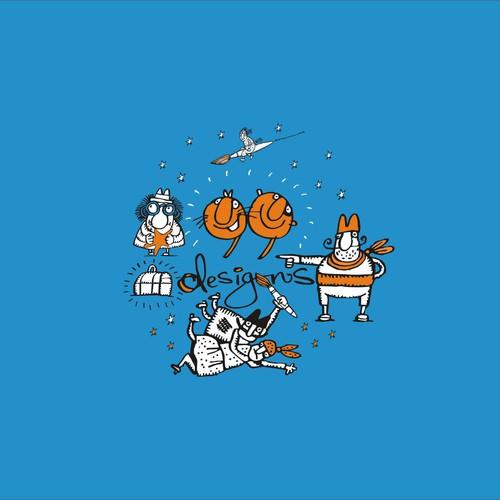 Create 99designs' Next Iconic Community T-shirt Design by apelsini