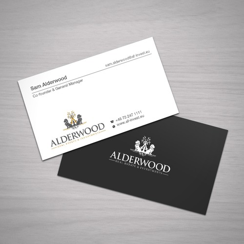 1 Business Card Contest