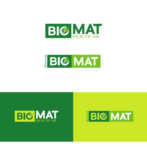 design an appealing, stylish logo for Biomat Health UK
