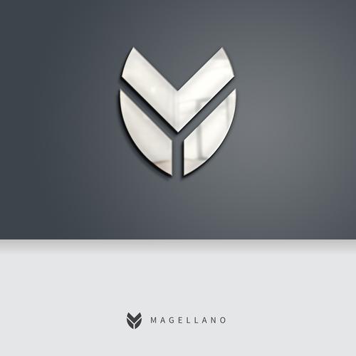 Diseño finalista de Logo Dish