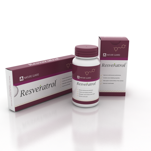 Resveratrol Supplement Brand Label Stationery Contest 99designs