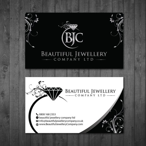 Business Card For Beautiful Jewellery