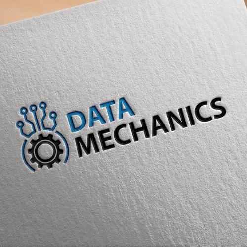Logo for a fast-growing deep tech B2B startup in big data