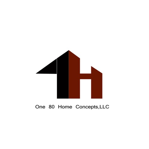 Create a transforming logo for one80 home concepts llc for Concept homes llc