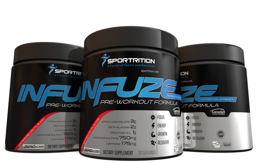 Pre Workout Label for Sportrition   Product label contest