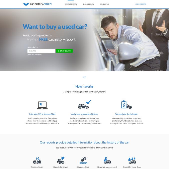 Free Car History Report >> Car History Report Free Car History Reports Carfax Autocheck