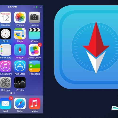 how to create an icon on ipad