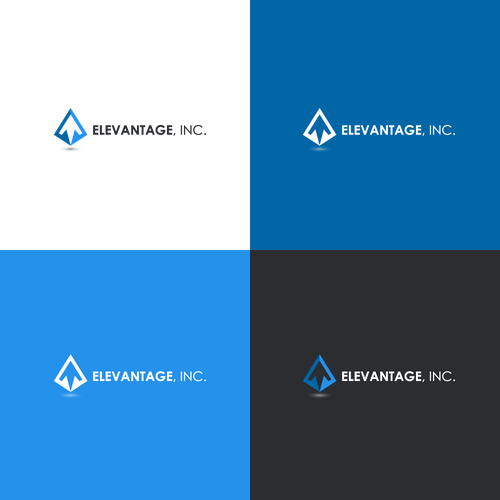 Sophisticated Logo For New Business Elevantage A Drone Gps