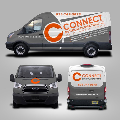 Vehicle wrap with emphasis on branding and uniqueness | Car