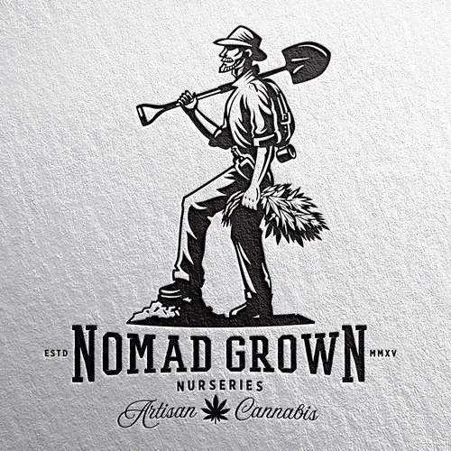 Veteran Run Medical Cannabis Company Needs Powerful Vintage Logo Design Design by guppyfish