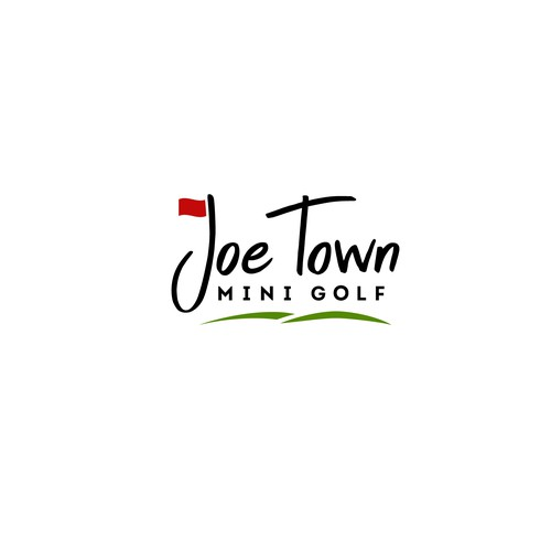 In Need Of A Fun Inviting Logo For A New Business Joe Town Mini Golf Logo Design Contest 99designs