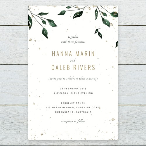Creative Digital Wedding Invitation Awarding Multiple