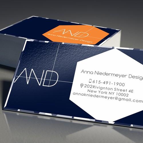 Create a beautiful designer business card Design by Designbucks