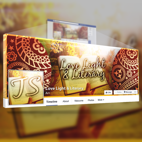 Create a Captivating Bohemian Facebook Cover for a ...