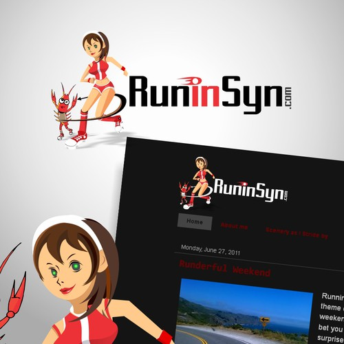 Runner-up design by Songv