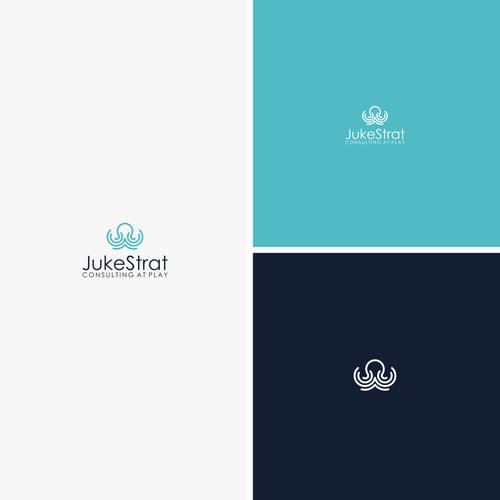 Create A Unique Sophisticated Abstract And Minimalist Octopus Logo With A Creative Energetic Fon Concurso Design De Logo 99designs