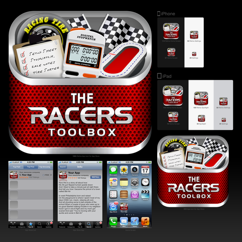 Runner-up design by vektoretro