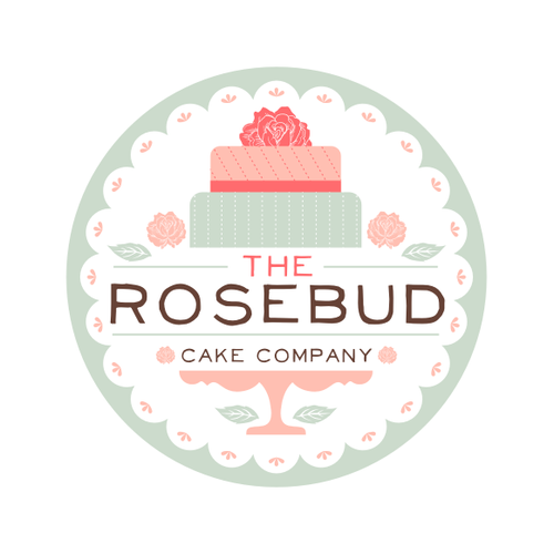 Cake Company Logo Design : New logo wanted for The Rosebud Cake Company Logo design ...