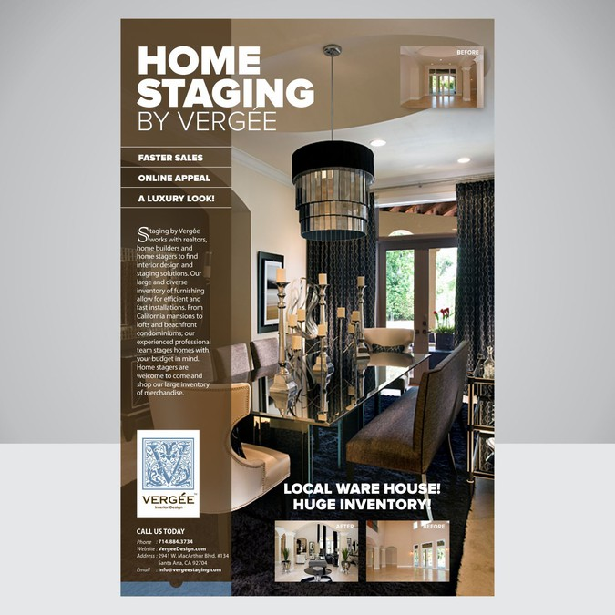 Create A Staging Flyer To Attract Builders And Realtors