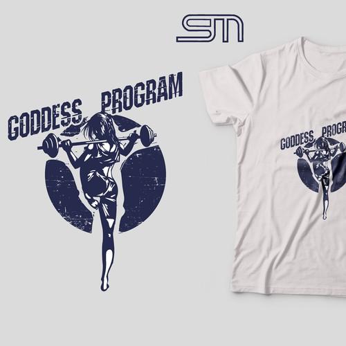 Sports T Shirt Design For The Goddess Program T Shirt Contest 99designs