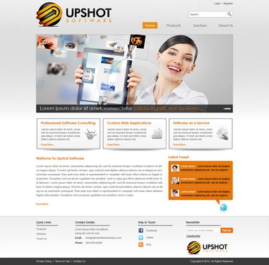 Runner-up design by ATOM IT SERVICES