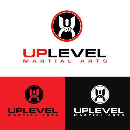 design the logo for uplevel martial arts logo design contest