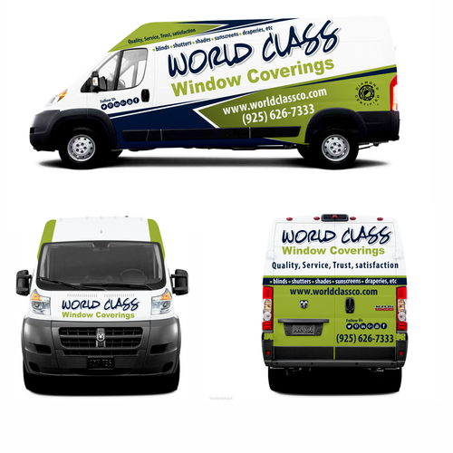 2015 Ram Promaster Window Van Transmission: 2015 Dodge ProMaster Vehicle Wrap For Window Covering