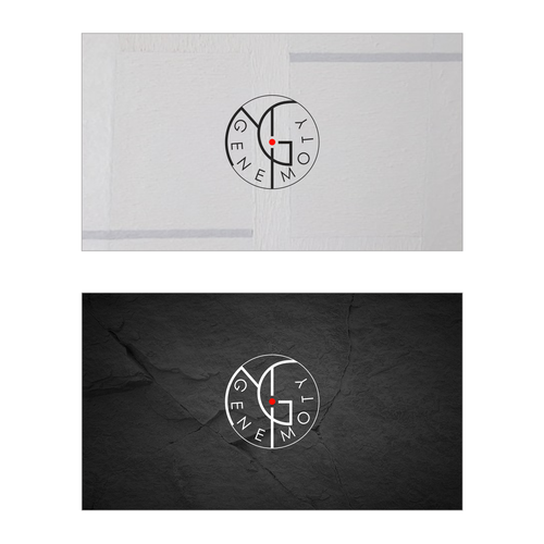 Create custom Vienna Secession Monogram style logo for and artist Design by tewayanu